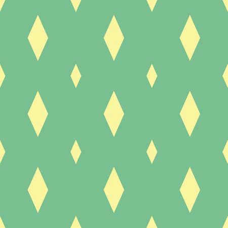 원활한 마름모 패턴 그림입니다. 일러스트