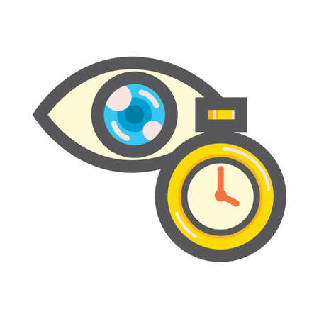 eye and timer