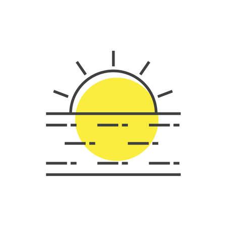 sun 矢量图像