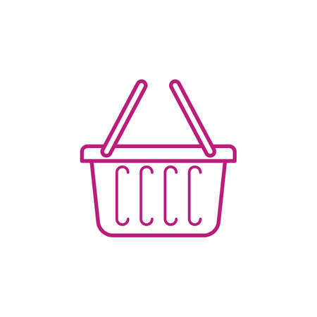 ショッピング バスケット  イラスト・ベクター素材
