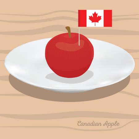 캐나다 사과