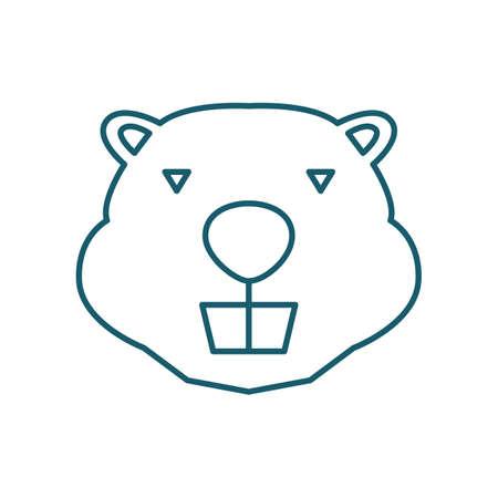 beaver Ilustracja
