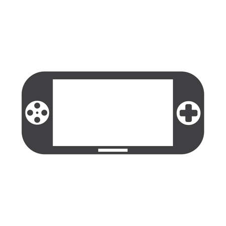 handheld game device 向量圖像