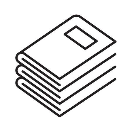 A stack of books illustration. Иллюстрация