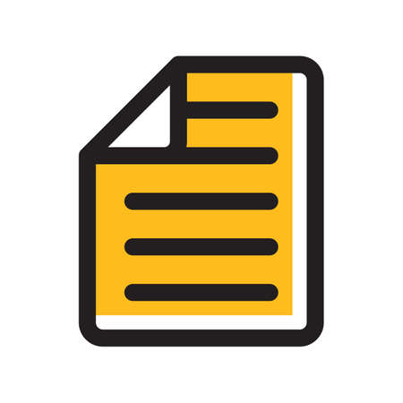 notes icon Illustration