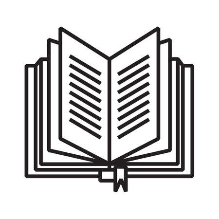 open book Illusztráció