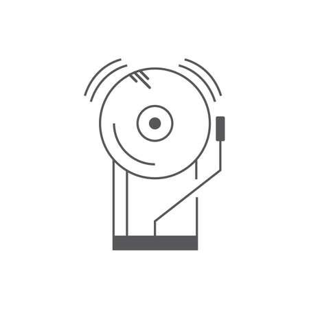 A bell illustration. Stock Vector - 81484577