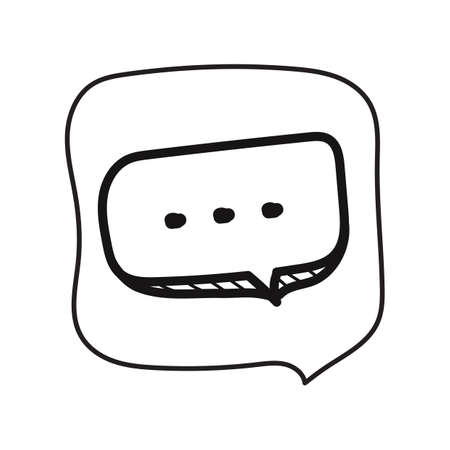 chat bubble Illustration