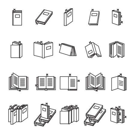 Collection de livres Banque d'images - 81533527