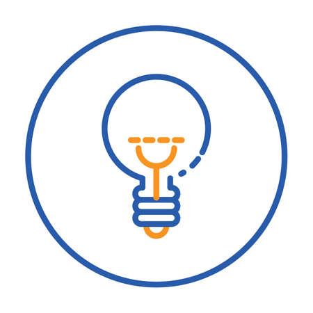 A light bulb illustration.