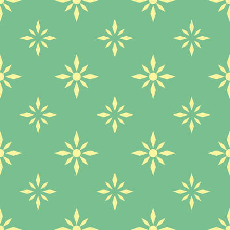 A seamless flower pattern illustration.