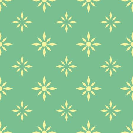 Een naadloze illustratie van het bloempatroon.