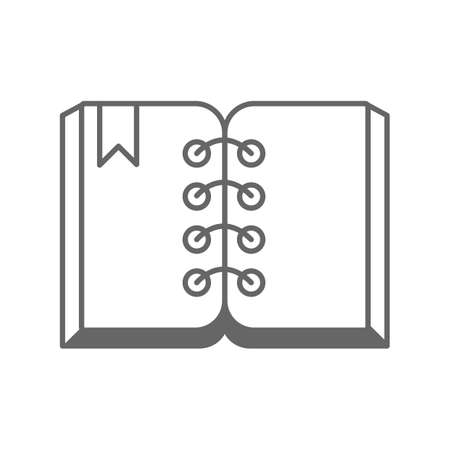open book 向量圖像