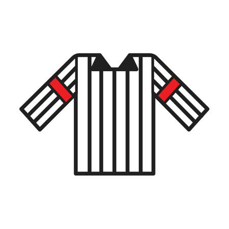 A referee shirt illustration.