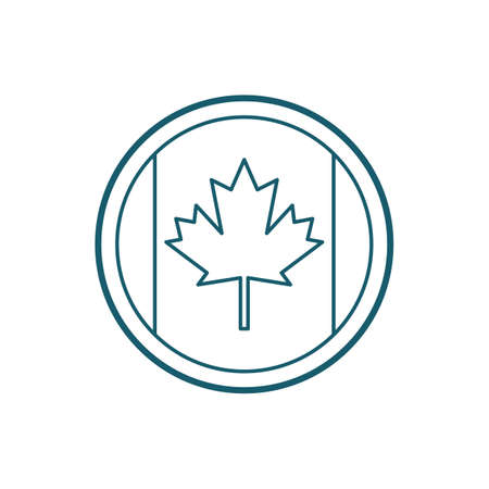 A Canada emblem illustration.