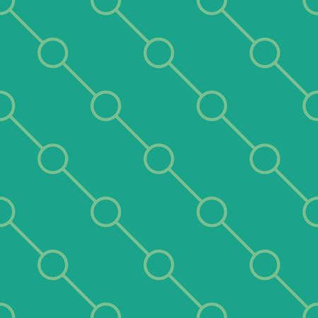 シームレスな幾何学的パターンの図。
