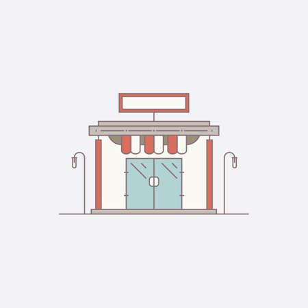 Shop Ilustração