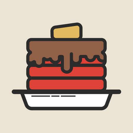 pancakes Banco de Imagens - 81483893