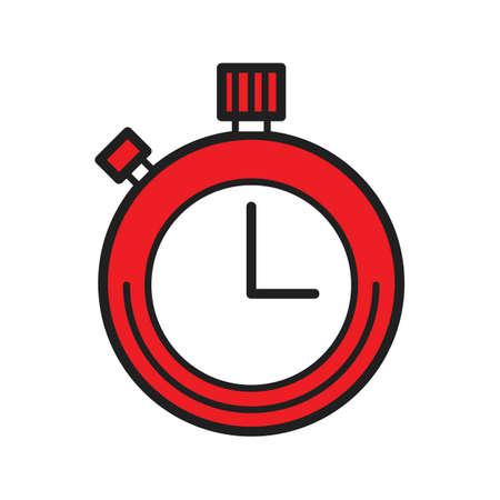 A timer illustration. Ilustracja