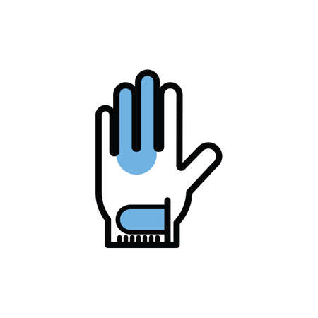hand glove Illustration