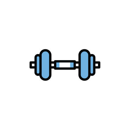 dumbbell Stock Vector - 81483905
