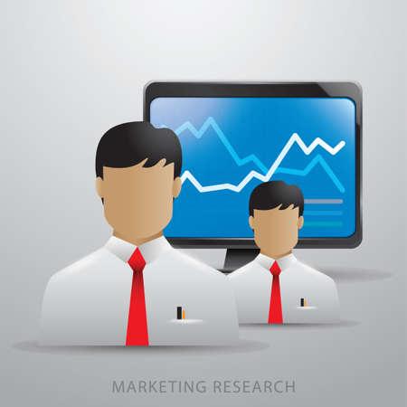Marketing research. Ilustração