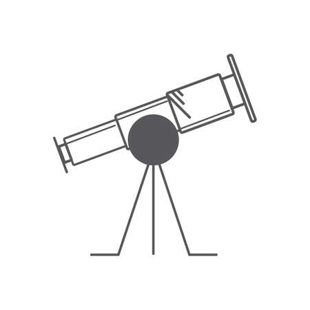 A telescope illustration.