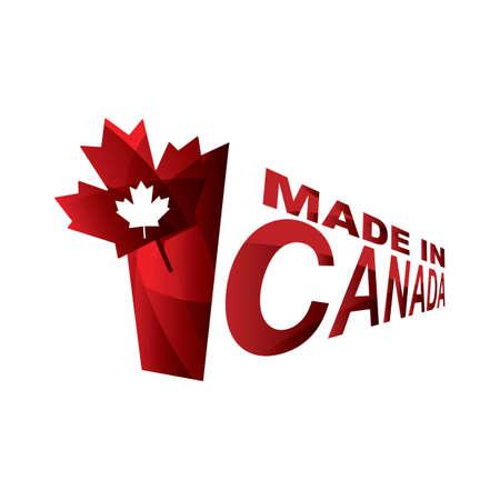 カナダのデザインは、  イラスト・ベクター素材