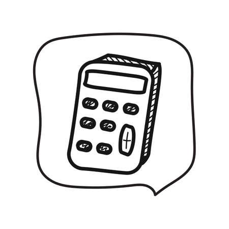 Taschenrechner Standard-Bild - 81534352