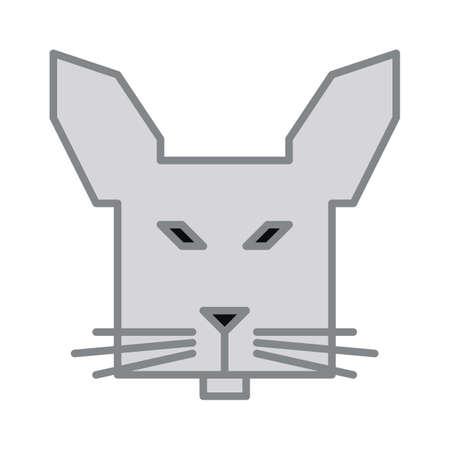 Rabbit Stock Vector - 81535034