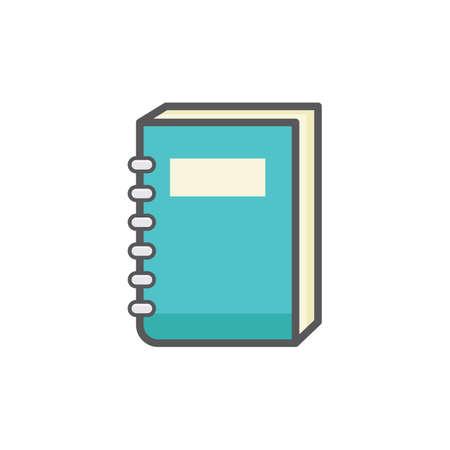 Spiral book Illustration