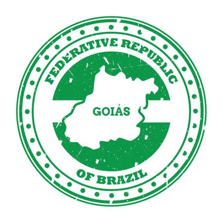 goias map stamp