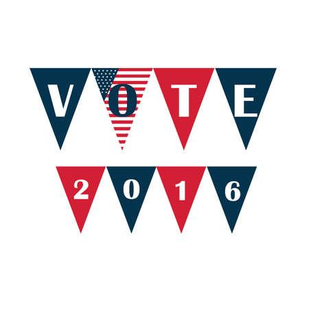 us vote buntings