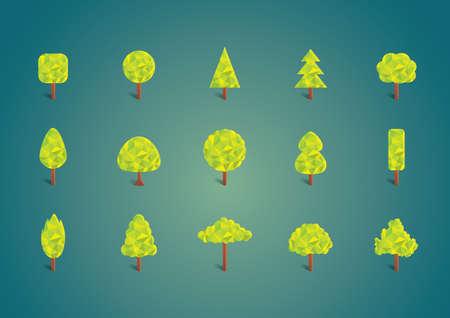 verzameling bomen