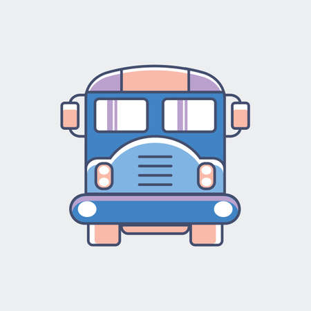 A bus illustration.