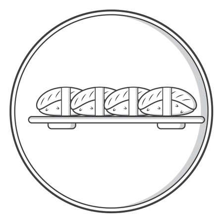 sushi Stock Illustratie