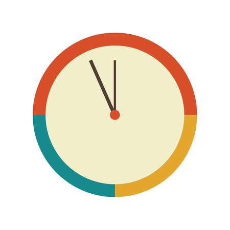 Clock illustration. Illusztráció