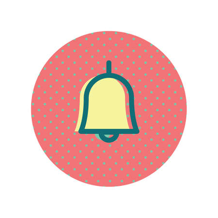 An alarm bell icon illustration.