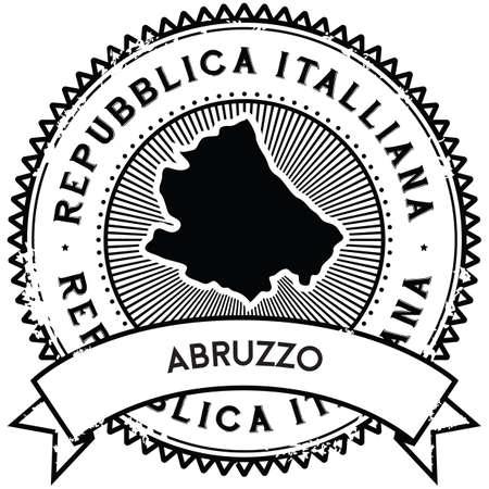 abruzzo map label