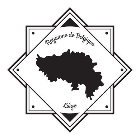 Liege map label