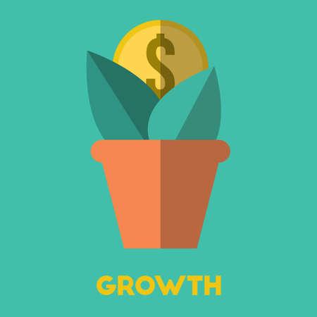 자본 성장 개념입니다.