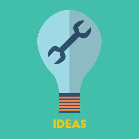 아이디어 개념.