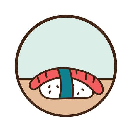 sushi Ilustrace