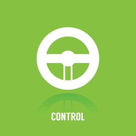 Control concept. Ilustração