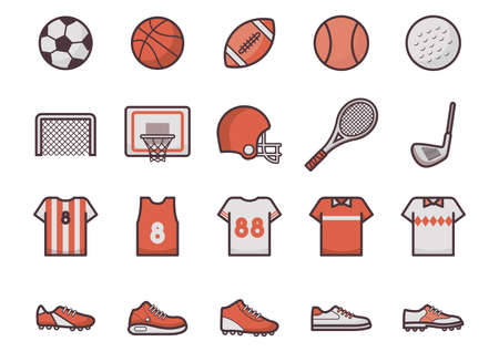 sport icon collection