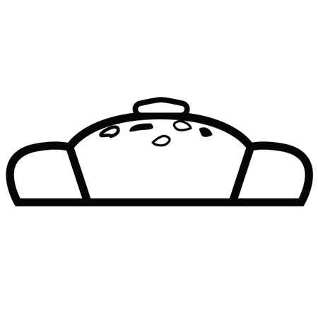 벨기에 빵 일러스트