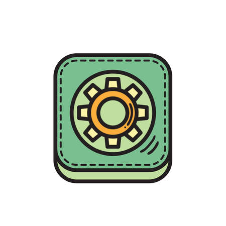 setting icon Illustration