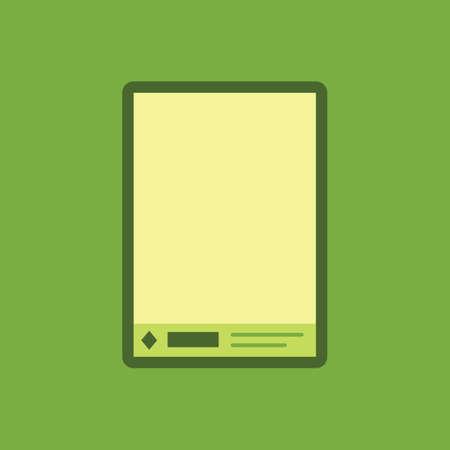 Letterhead icoon
