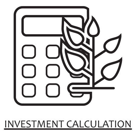 investment calculation concept