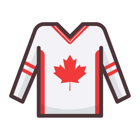 Jersey de hockey Foto de archivo - 81535046